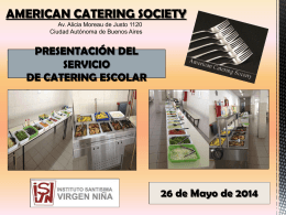american catering society