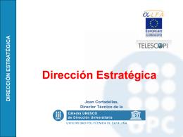 Dirección Estratégica II