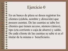 Ejercicio 1 - Prof. Gabriel Matonte