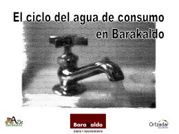 Ciclo del agua de consumo en Barakaldo