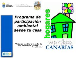 HV Canarias. Agua - ies puerto del rosario