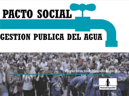 Presentación#iniciativagua2015-3
