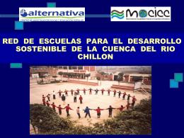 Red de Escuelas del Chillón-Día del agua