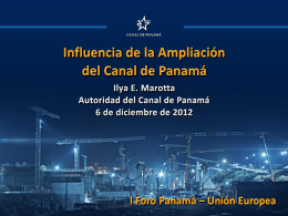 Panama Canal Expansion program