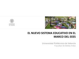 presentación powerpoint sobre el nuevo plan bolonia