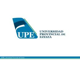 Desarrollo histórico juridico Logo Universidad Ezeiza Nuevo