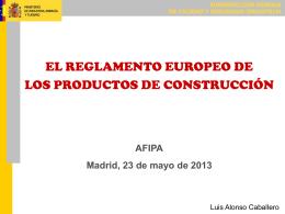 Nuevo Reglamento Europeo de Productos de