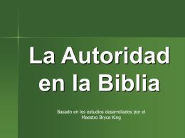 Autoridad Apostólica - W. Madera