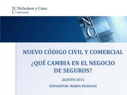 El nuevo Código Civil y Comercial de la Nación