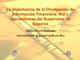 implicaciones del nuevo capítulo 9 del código de seguros