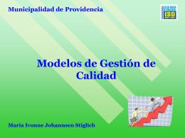 Modelo de Gestión de Calidad de los Servicios Municipales de
