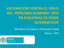 Justificacion Esquema extendido vacunacion