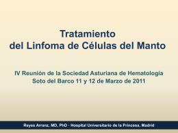 Tratamiento del Linfoma de Células del Manto - SAHH