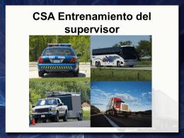 Puntajes o cuentas de violaciones CSA