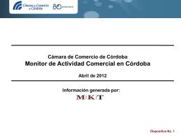descargar informe - Cámara de Comercio de Córdoba