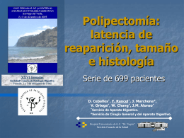 XXVI Jornadas - Sociedad Canaria de Patología Digestiva