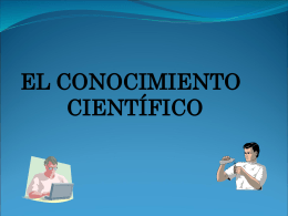 Epistemologia Epísteme: Saber cientifico Logos: Teoria