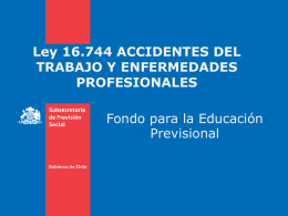 Accidente del Trabajo