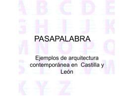 PASAPALABRA - Concurso Día de Castilla y León en clase