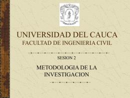 Sesión 2 TERMINOS - Universidad del Cauca