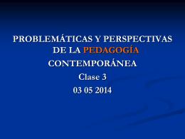 EDUCACIÓN, ESCUELA Y PEDAGOGÍA