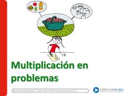 Multiplicación en problemas
