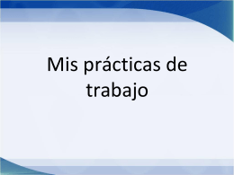 mis prácticas de trabajo - Millthorpe School Languages Blog