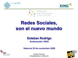 5_1_Esteban_Rodrigo_Xing_Presentación REDES SOCIALES FORUMTECH