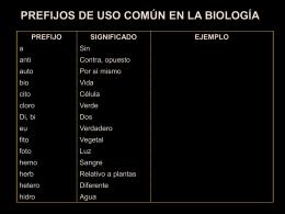 ciencia - Biología en la UP