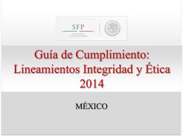 Guía del tema. - Programa Anticorrupción