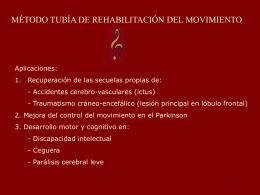 Método Tubía en la rehabilitación del movimiento