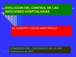 control de las infeciones hospitalarias