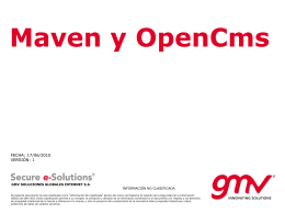 - OpenCms Hispano