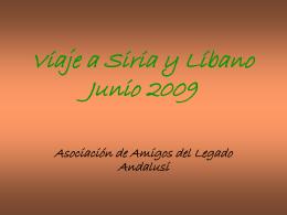Diapositiva 1 - Asociación Amigos del Legado Andalusí