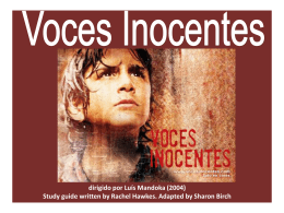 VocesInocentes_Pre-filmSession Birch revised