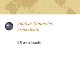 ASintacticoAscendente
