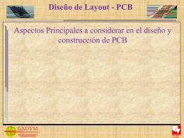 Diseño de Layouts en PCB`s