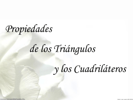 triangulos - cuadrilateros (trigonometria)