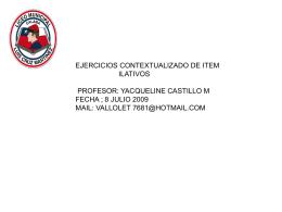 ejercicios_ilativos - Liceo Luis Cruz Martínez