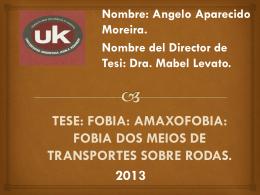 FOBIA: AMAXOFOBIA