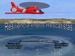 Resiliencia en los Rescatistas