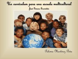 Un currículum para una escuela multicultural