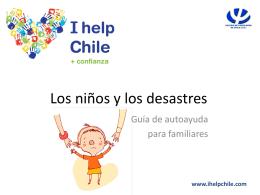 Los niños y los desastres