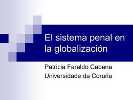 El sistema penal en la globalización - iscte-iul