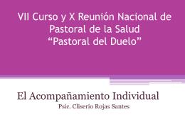 Pastoral del Duelo - Centro San Camilo