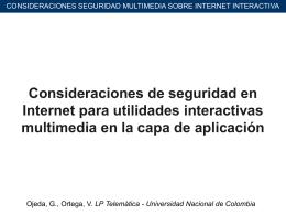 Consideraciones de seguridad en Internet para utilidades
