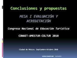 i conclusiones eval y acred 10