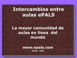 ePALS Classroom Exchange