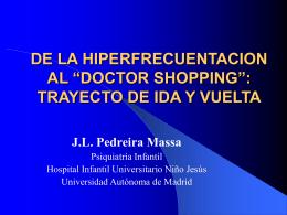 """""""doctor shopping"""": trayecto de ida y vuelta"""