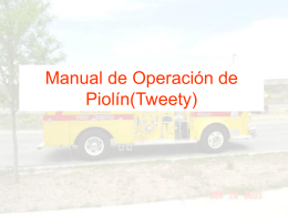 Tweety Operation Manual